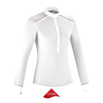 Camisa de competición mujer AERIAL II white