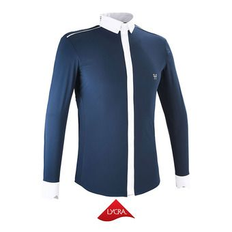 Chemise de concours ML homme AERIAL II marine