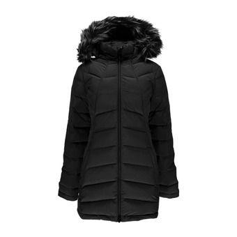 Doudoune longue à capuche femme SYRROUND black