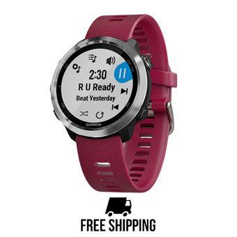 Reloj GPS FORERUNNER® 645 MUSIC cereza