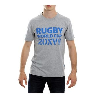Tee-shirt MC homme 20XV RWC 2015 RWC 2015 grey marle