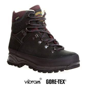 Chaussures de randonnée femme ISLAND MFS ACTIVE anthracite/bordeaux