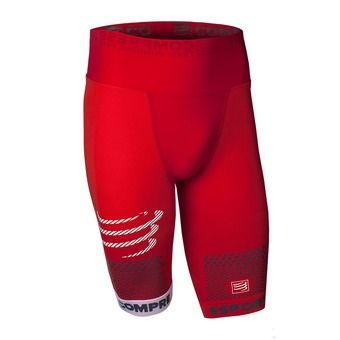 Cuissard homme TRAIL RUNNING SHORT rouge