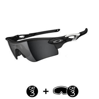 Lunettes de soleil RADARLOCK™ PATH™ polished black/black iridium®/VR28®