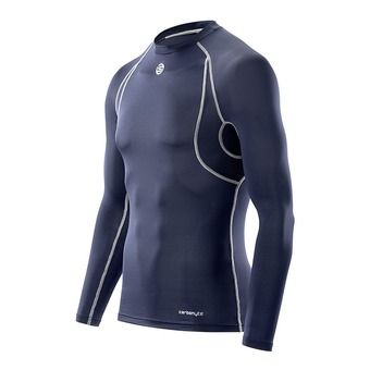 Sous-couche ML homme CARBONYTE navy