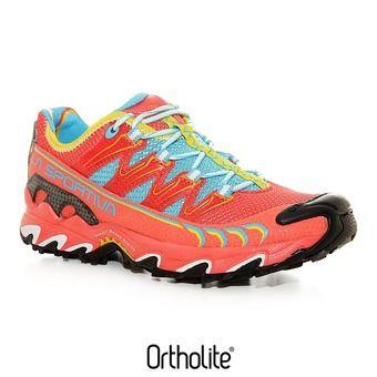 Zapatillas de trail mujer ULTRA RAPTOR coral