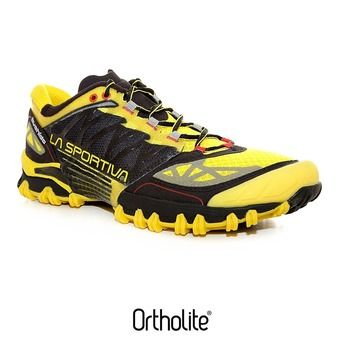 Chaussures trail homme BUSHIDO yellow/black