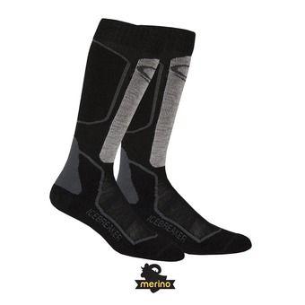 Chaussettes de ski homme SKI+ LT OTC oil/black/silver