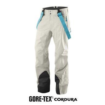 Pantalón de esquí mujer COULOIR IV Q cream