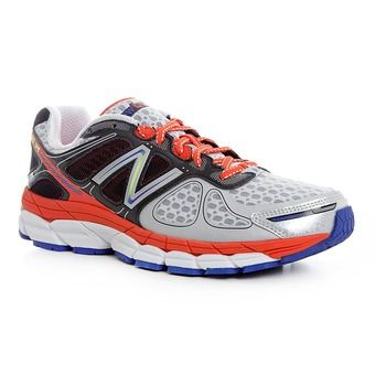 Chaussures running homme M860 V4 white/red
