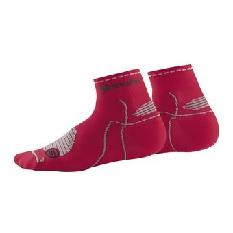 Chaussettes QUARTER CYCLE red