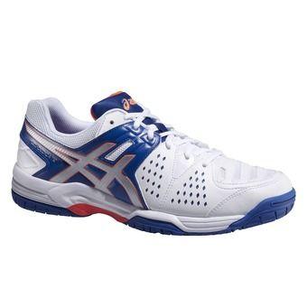 Chaussures tennis homme GEL DEDICATE 4 blue/silver/flash orange