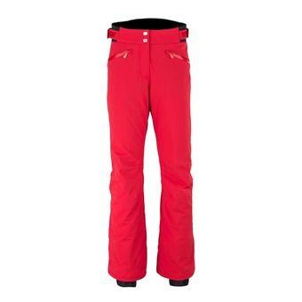 Pantalon de ski femme ST ANTON hot coral