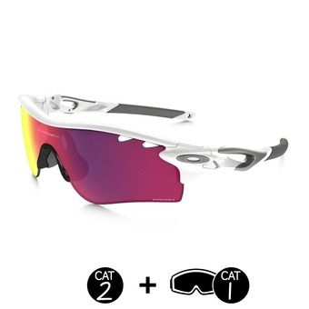 Lunettes PRIZM™ ROAD RADARLOCK polished white - permission vented