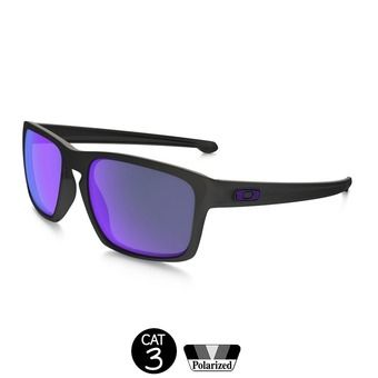 Gafas de sol polarizadas SLIVER™ matte black - violet iridium®