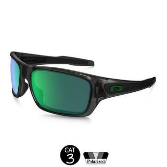 Gafas de sol polarizadas TURBINE™ grey smoke/jade iridium®