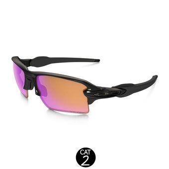 Lunettes FLAK® 2.0 XL polished black / prizm trail