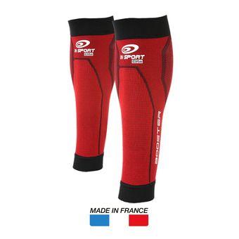 Manchons de compression BOOSTER ELITE rouge/noir