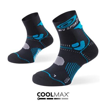 Chaussettes de trail STX+ noir/bleu