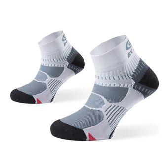 Calcetines de running RSX blanco/gris/negro