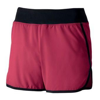 Short femme BANEE rose red/black