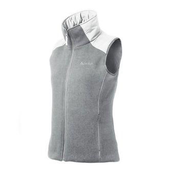 Veste sans manches réversible femme FLASHPOINT grey melange