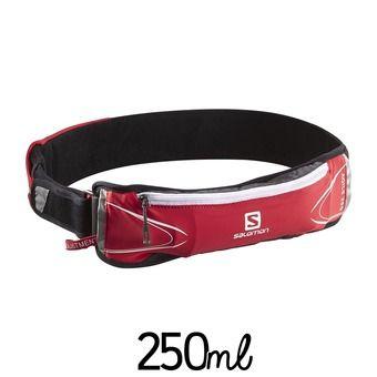 Cinturón de hidratación 250ml AGILE bright red/asphalt