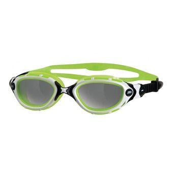 Gafas de natación PREDATOR FLEX REACTOR silver/green photochromiques