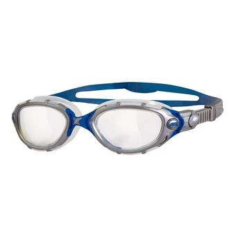 Gafas de natación PREDATOR FLEX clear/silver/blue