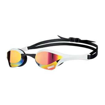 Gafas de natación COBRA ULTRA MIRROR red revo/white/black