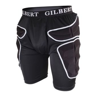 Short de protection homme PRO TRAINING black/white