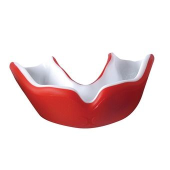 Protector bucal VIRTUO DUAL DENSITY rojo/blanco