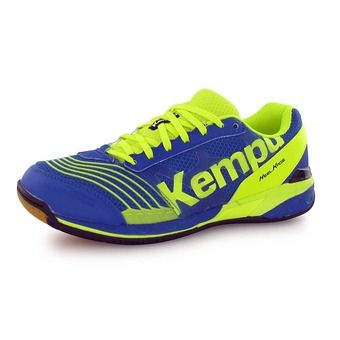 Chaussures handball homme ATTACK TWO royal/jaune fluo