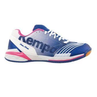 Chaussures handball femme ATTACK ONE bleu électric/blanc/rose