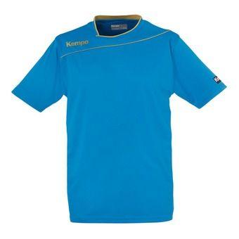 Camiseta hombre GOLD azul kempa/dorado