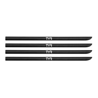 Lot de 4 élastiques pour plaquettes TYR black