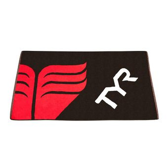Toalla TYR black/red