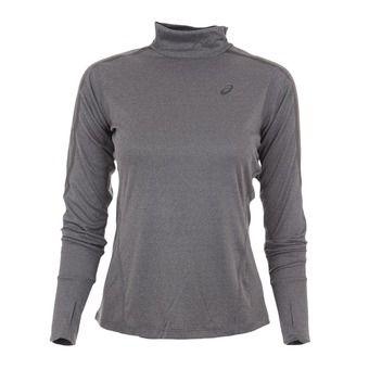 Maillot ML femme LITE-SHOW NECK dark heather grey