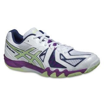 Chaussures indoor femme GEL BLADE 5 white/pistachio/grape