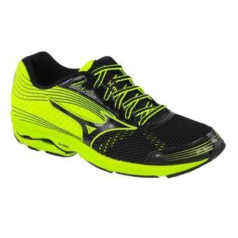 Chaussures running homme WAVE SAYONARA 3 blackblack/neonyellow