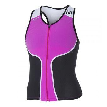Débardeur trifonction femme iTOP pink/black/white