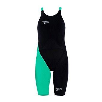 Combinaison femme FASTSKIN® LZR RACER ELITE 2 black/green