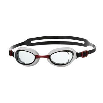 Lunettes de natation homme AQUAPURE red/smoke