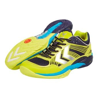 Chaussures handball homme OMNICOURT Z8 graphite/sulphur spring/blue grotte