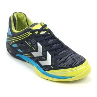 Zapatillas de balonmano hombre OMNICOURT Z6 dress blue/atomic blue/white