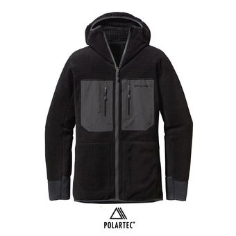 Chaqueta polar reversible hombre R3 black