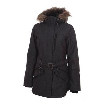 Veste à capuche femme CARSON PASS™ II noir