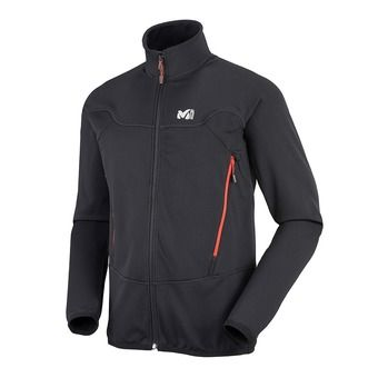 Sweat zippé homme TECHNOSTRETCH black