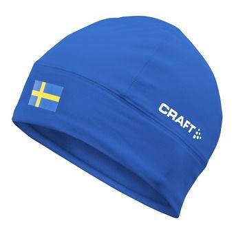 Bonnet thermique NATION bleu/Suède