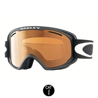 Gafas de esquí O2 XM matte black - persimmon